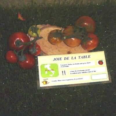 tomate Joie de la table
